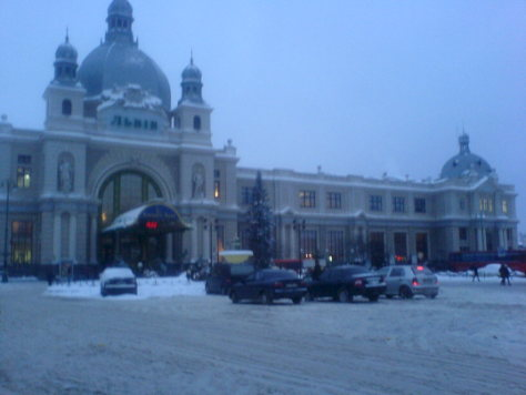 Lviv Train Station Ukraine