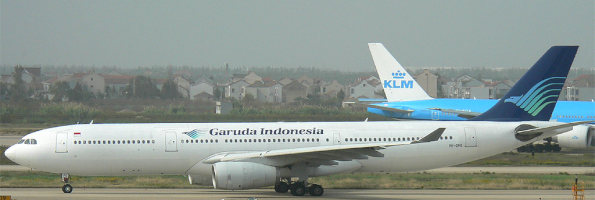 planes in Indonesia